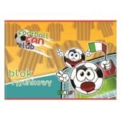 Blok rysunkowy INTERDRUK A4/20k kolor BLRK