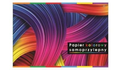 Zeszyt papierów kolorowych samoprzylepnych INTERDRUK B4/8k ZEPKB4SP