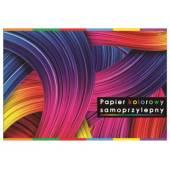 Zeszyt papierów kolorowych samoprzylepnych INTERDRUK B4 / 8k ZEPKB4SP