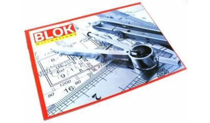 Blok milimetrowy INTERDRUK A3 20 kartek