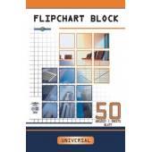 Blok do flipchartów INTERDRUK 640x955mm 50k kratka