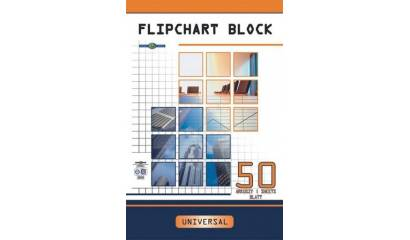 Blok do flipchartów INTERDRUK 640x955mm 50k kratka