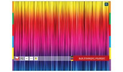 Blok rysunkowy INTERDRUK A3/20k kolor BLRA3K