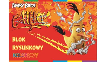 Blok rysunkowy INTERDRUK A4/20K kolor Angry Birds Movie