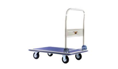 Wózek platformowy ze składaną rączką do 150kg.