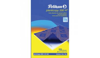 Kalka ołówkowa PELIKAN A4 niebieska standardowa 10ark PN434738