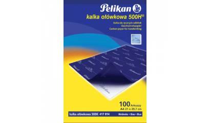 Kalka ołówkowa PELIKAN A4 niebieska standardowa 100ark PN417014