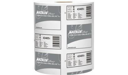 Ręcznik w roli KATRIN PLUS M2 2W 90MB super biały (6szt) 2658