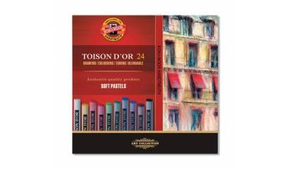 Pastele suche KOH-I-NOOR ToisonD'or 36 kolorów 8515N / 36
