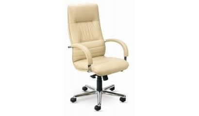 Fotel gabinetowy NOWY STYL Linea Steel Chrome SD16