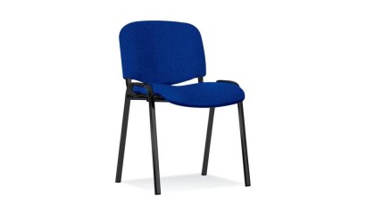 Krzesło NOWY STYL ISO Black CU14 Niebieskie