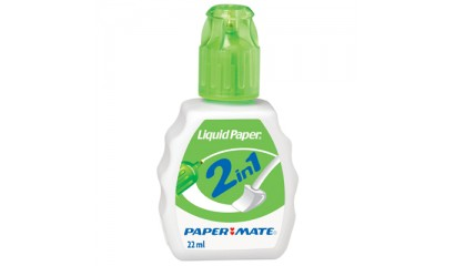 Korektor PAPER MATE Liquid Paper Combo 2w1 22ml S0900151