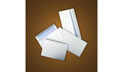 Koperta DL SK 110x220mm biała (50szt) NC
