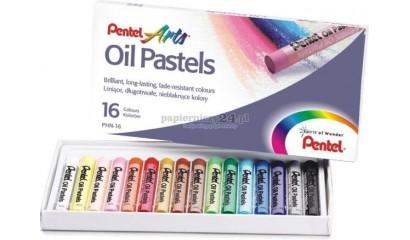 Pastele olejne PENTEL 16kol. PHN-16