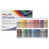 Pastele olejne PENTEL 50 kolorów  PHN-50