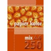 Papier ksero A4 / 80g KRESKA mix kolor (250ark.)