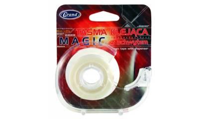 Taśma biurowa GRAND Magic 18mmx20m z dyspenserem 130-1277
