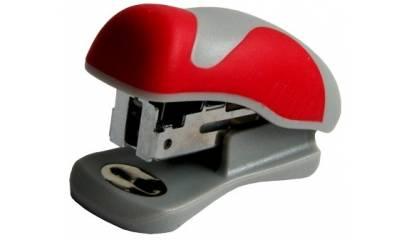 Zszywacz EAGLE ALPHA Mini S5027B czerwony 15k 24/6 110-1292