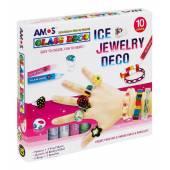 Farby witrażowe AMOS ICE JEWELRY 10x10,5ml GD10P10IJ