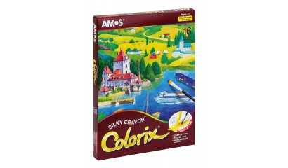Kredki artystyczne AMOS COLORIX 3w1 16kol. CRX5P16