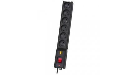 Listwa zasilająca LESTAR LX 610 1,5mb czarna