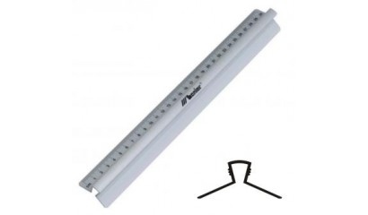 Linijka LENIAR 100cm 30089 aluminiowa z uchwytem