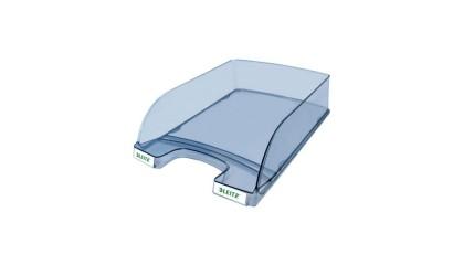 Tacka biurowa LEITZ Plus z identyfikatorem przeźroczysto-grafitowa 52380092