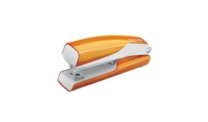 Zszywacz LEITZ WOW mini 5528 pomarańczowy metalik 10k 10''