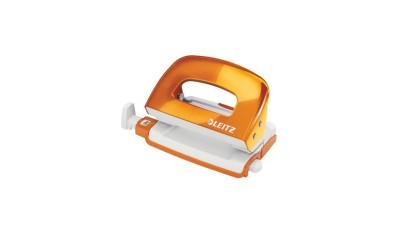 Dziurkacz LEITZ WOW 5060 pomarańczowy metalik 10k