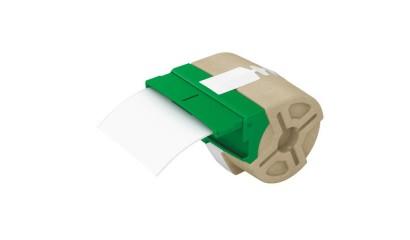 Kaseta z samoprzylepną, papierową taśmą do drukowania etykiet LEITZ Icon, szer. 88mm, biała 70030001