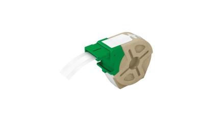 Kaseta z samoprzylepną, papierową taśmą do drukowania etykiet LEITZ Icon, szer. 12mm, biała 70110001