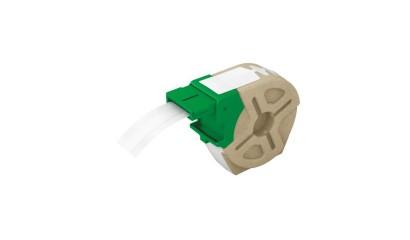 Kaseta z samoprzylepną, plastikową taśmą do drukowania etykiet LEITZ Icon, szer. 12mm, biała 70150001