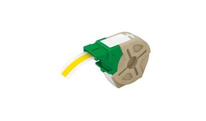 Kaseta z samoprzylepną, plastikową taśmą do drukowania etykiet LEITZ Icon, szer. 12mm, żółta 70150015
