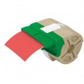 Kaseta z samoprzylepną, plastikową taśmą do drukowania etykiet LEITZ Icon, szer. 88mm, czerwona 70160025
