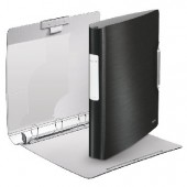 Segregator ringowy LEITZ Style, 4DR/30mm Softclick, czarny 42450094