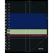 Kołonotatnik LEITZ Be Mobile Executive A5/80k, 90gsm, PP, w linię 44510000
