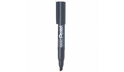 Marker permanentny PENTEL NN60 czarny ścięty