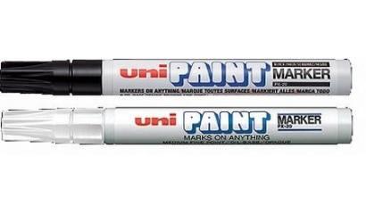 Marker UNI z tuszem olejowym PX-20