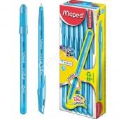 Długopis MAPED Ice Fine 1,0 błękitny 224550