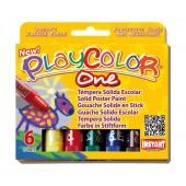 Farby w sztyfcie INSTANT Playcolor kpl. 6kol. 10711