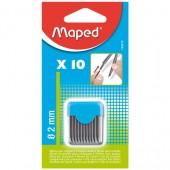Grafit do cyrkli MAPED 2mm (10szt) 134210