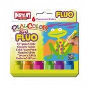 Farby w sztyfcie INSTANT PlayColor 6kol.fluo 10431