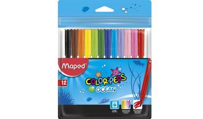 Flamastry MAPED ColorPeps Ocean 12kol. 845720 artykuły szkolne