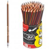 Ołówek z gumką MAPED Blackpeps HB 851759