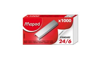 Zszywki MAPED 24/6 op.1000szt 324405
