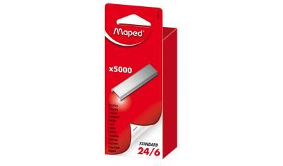 Zszywki MAPED 24/6 op.5000szt 324401