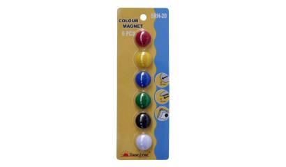 Magnesy kolorowe ARGO WF-20 (6)