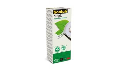Taśma ekologiczna 3M Scotch Magic 19 mm x 33m matowa (9szt) 900-1933-9