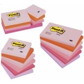 Karteczki samoprzylepne 3M Post-it 76x127mm P.Radosna 6 bl. po 100kart. 655FLJO