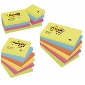 Karteczki samoprzylepne 3M Post-it 76x127mm P.Energetyczna 6 bl. po 100kart. 655TFEN